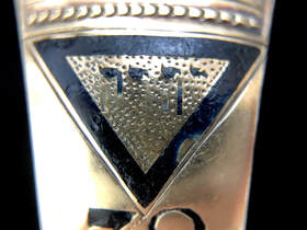 The Equilateral Triangle is symbolic of Deity and Perfection in Masonic symbolism.  It represents The Great First Cause, the Creator and Container of all things.