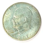 Obverse of a 1971-S Ike dollar