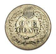 Reverse of an 1860 Indian Head Cent