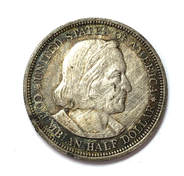 Obverse of an 1893 Columbian Exposition Commemorative Half Dollar